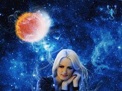 Фотоколлаж на космическую тему