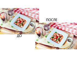 Обработка кулинарных фото