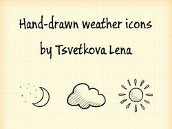 Погодные иконки.