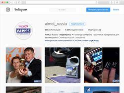 Контент для Aimol Russia в Instagram