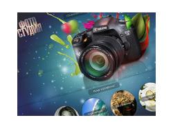 Макет для сайта фотографа
