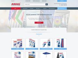 """Редизайн сайта для компании """"Awag"""""""