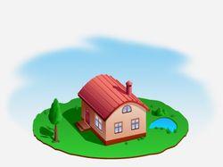 Дом, милый дом (вектор)