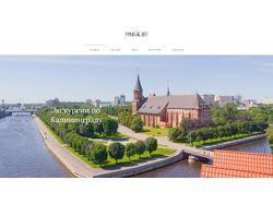 Разработка блога о Калининграде