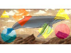 Парящий кит
