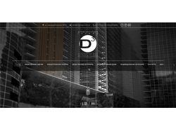 Сайт для компании архитектурного дизайна