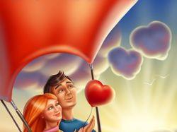 Романтическая иллюстрация