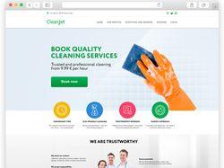 Сайт для клиринговой компании CleanJet