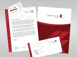 Фирменный стиль для строительной компании Basteg