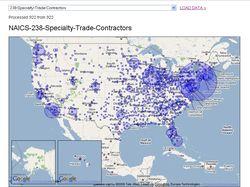 Генератор отчетов на основе Google Maps
