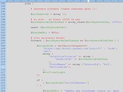 Директ. API. Отчёт о ценах/ставках по фразам