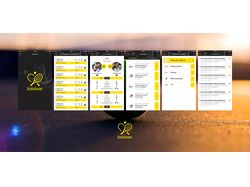 Мобильное приложение Все на теннис