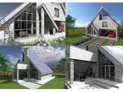 Дом на солнечных батареях