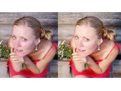 Портрет (ретушь, цветокоррекция)