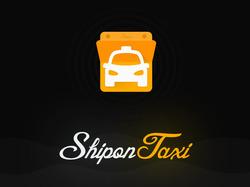 Shipon Taxi - дизайн мобильного приложения такси.