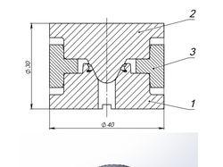 Пресс-форма для изготовления манжеты