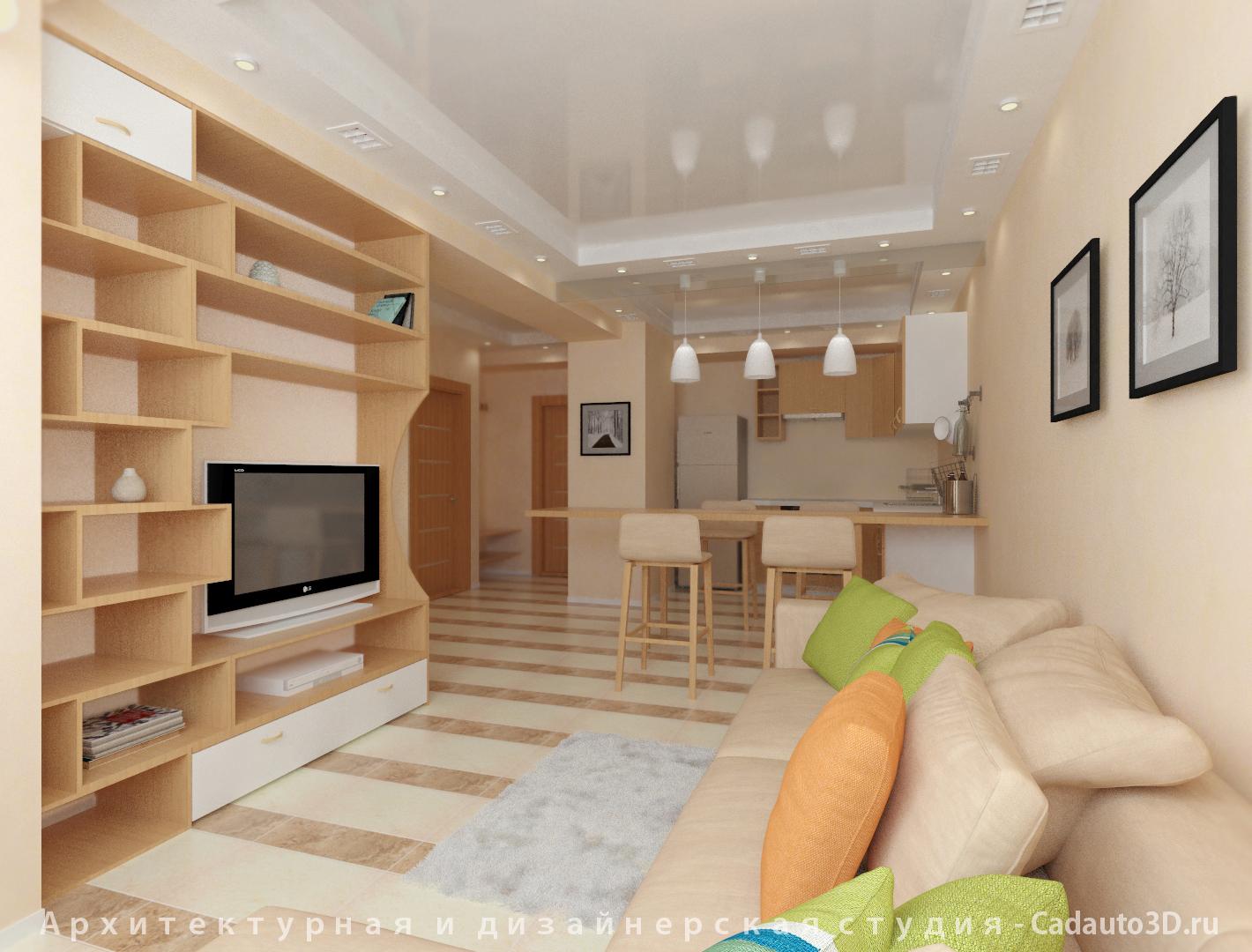 Архитектурная  и  дизайнерская студия  -  Cadauto3D.ru