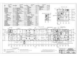 Векторизация плана этажа административного здания