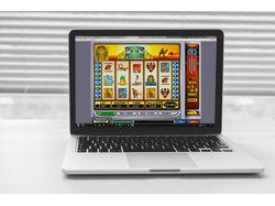 Дизайн слот-машины для интернет казино
