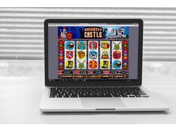 Дизайн слот-машины для интернет казино.