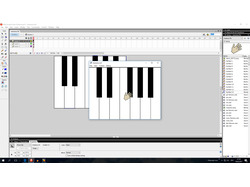 флэш-игра пианино