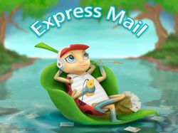 GVV-Express Mail cute ladybug Adobe Photoshop