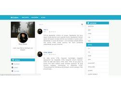 Мой личный блог. На Laravel5