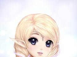 Персонаж из игры, портрет