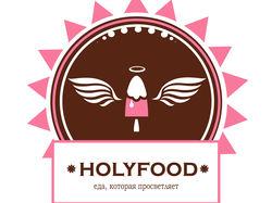 Логотип сыроедческой кухни + слоган +название