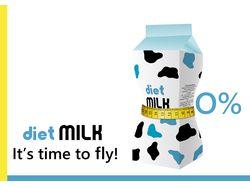 Молоко,вектор, Illustrator