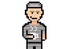 Pixel art человечка