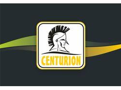 Логотип Centurion и визуализация товара.