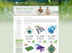 Интернет магазин товаров для йоги и спорта