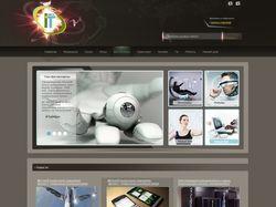 Сайт посвящённый информационным технологиям