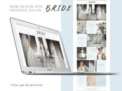 Сайт для свадебного салона