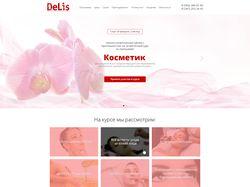 Верстка сайта Delis