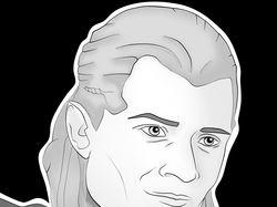 """Арт Леголаса из вселенной """"Властелин Колец"""""""