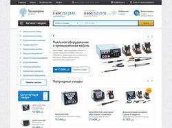 Интернет магазин Технопром [12 страниц]