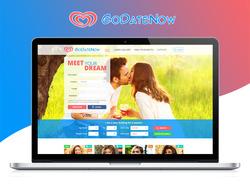 Редизайн сайта для знакомств  GoDateNow