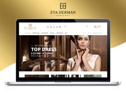 Интернет-магазина свадебных платьев EVA HERMAN