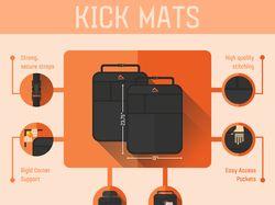 Kick mats