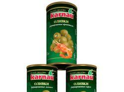 Банки с оливками Karnau