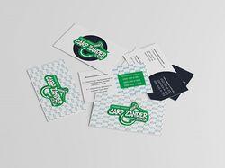 Carp Zander (Визитные карточки)