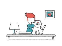 Анимация Кота