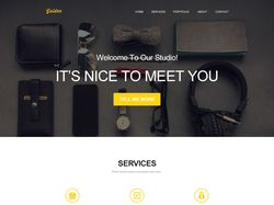 Golden-One-Page-Web-Landing Page