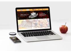 Дизайн сайта здорового питания