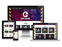Дизайн+верстка+посадка на WP сайта игровых клубов