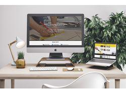 Дизайн Landing Page для ремонтной компании