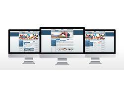 Дизайн сайта для строительного портала