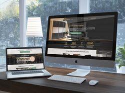 Дизайн Landing page для мебельной компании Армарио